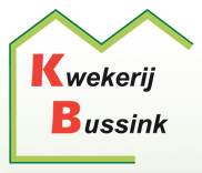 Logo tuincentrum Bussink kwekerij