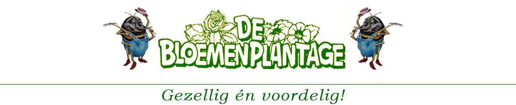 Logo tuincentrum De Bloemenplantage
