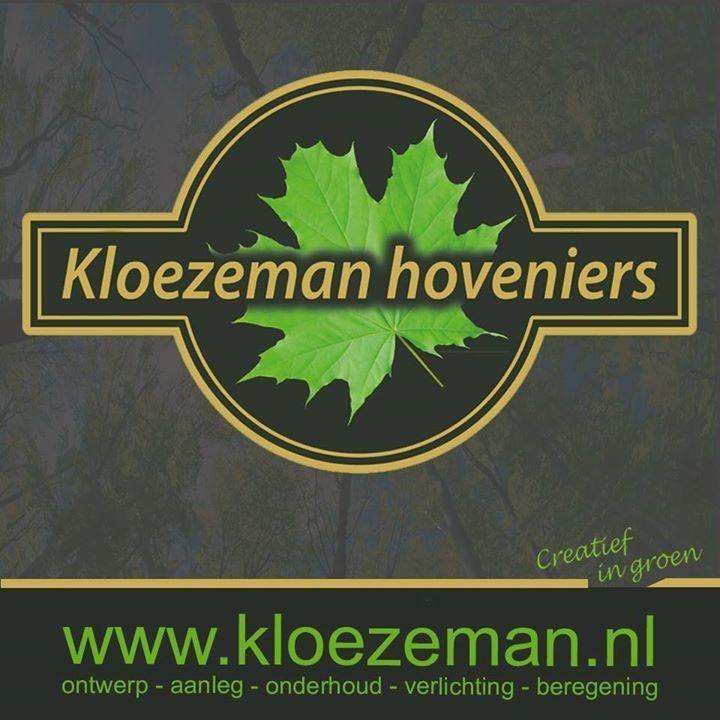 Logo tuincentrum Kloezeman