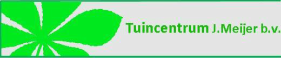 Logo Tuincentrum J. Meijer