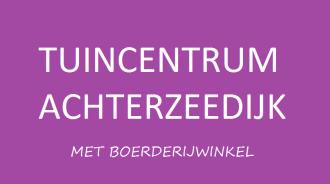 Logo tuincentrum Tuincentrum Achterzeedijk