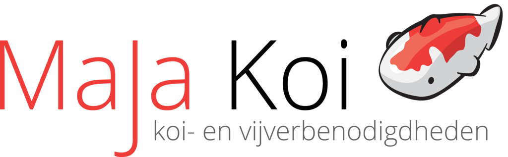 Logo tuincentrum MaJa Koi