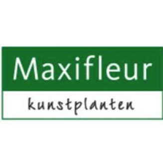 Logo tuincentrum Maxifleur Kunstplanten