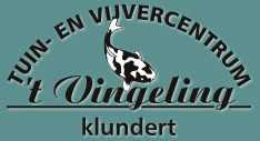 Logo tuincentrum Vingeling Tuin en Vijvercentrum