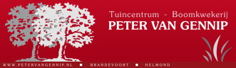 Logo tuincentrum Tuincentrum - Boomkwekerij P. van Gennip