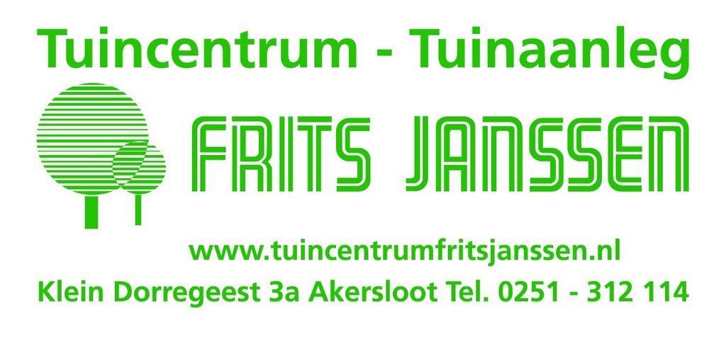 Logo tuincentrum Tuincentrum Frits Janssen