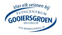 Logo tuincentrum Tuincentrum Gooiers Groen