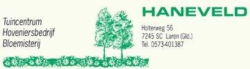 Logo tuincentrum Tuincentrum Haneveld