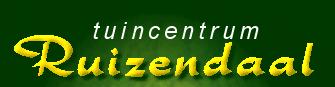 Logo tuincentrum Tuincentrum Ruizendaal