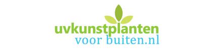 Logo tuincentrum uvkunstplantenvoorbuiten.nl